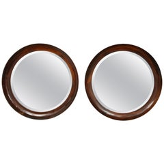 Brazilian Mirror in Solid Wood by Oca