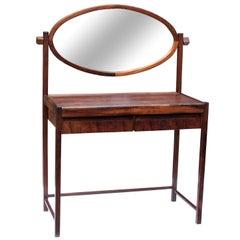 Brazilian Modern Vanity Dresser in Jacaranda Rosewood by Ernensto Hauner