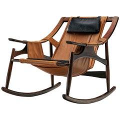 Brazilian Rocking Chair by Liceu de Artes e Oficios