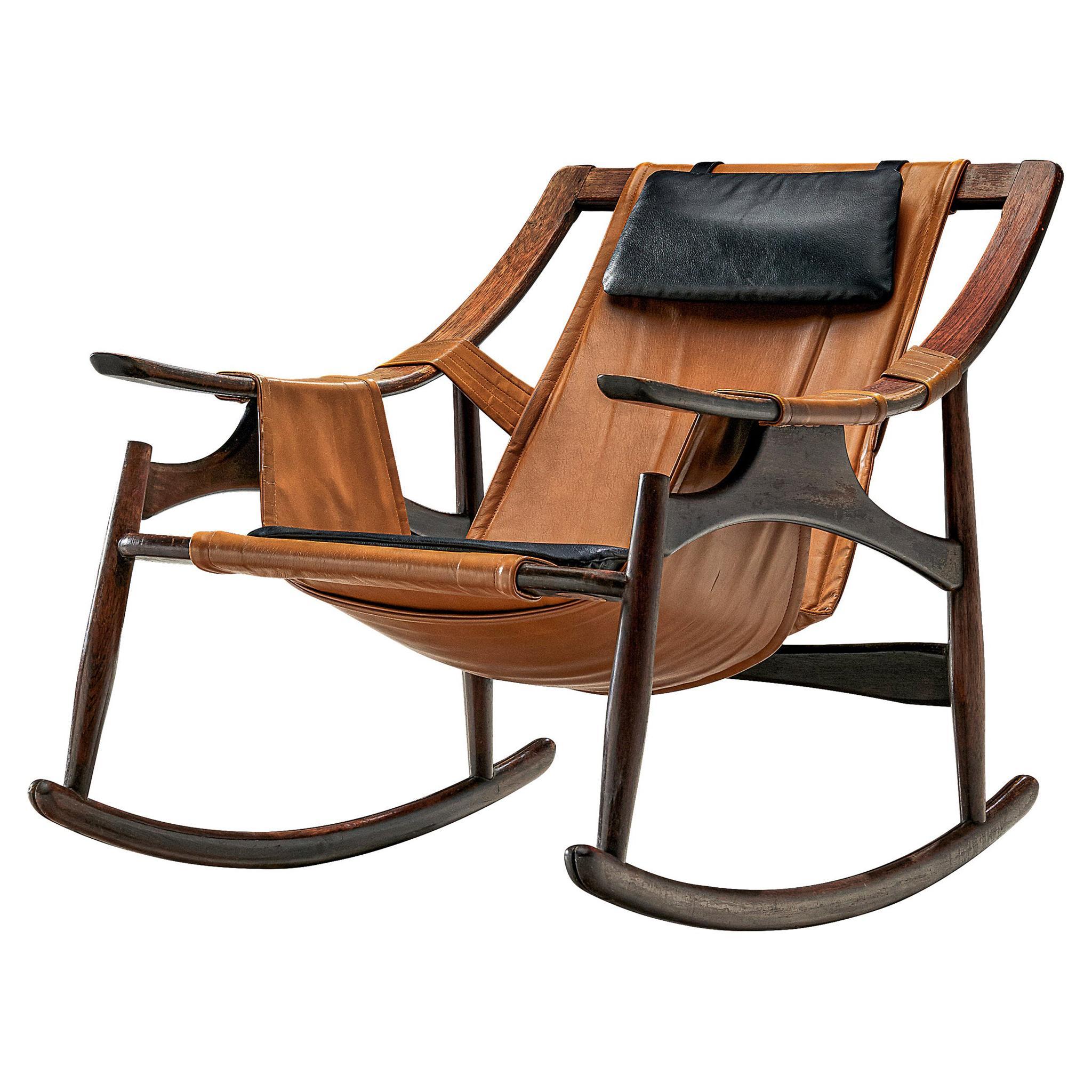 Brazilian Rocking Chair by Liceu de Artes e Oficios