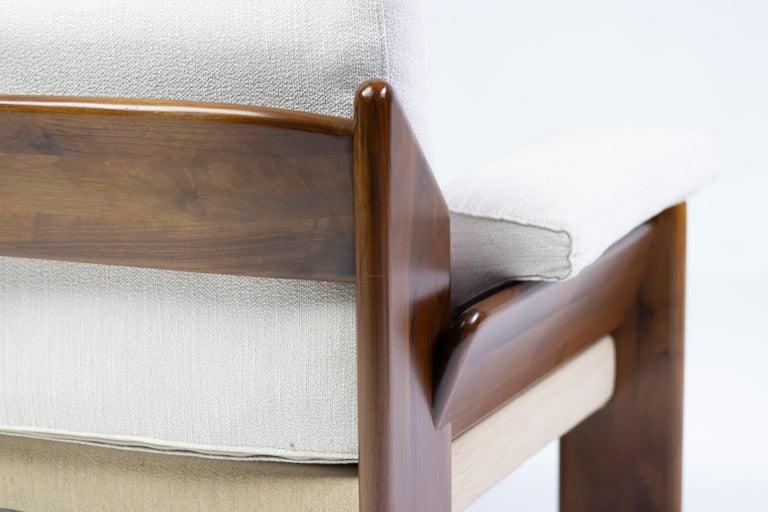 Brazilian Rosewood Living Room Set For Sale 4