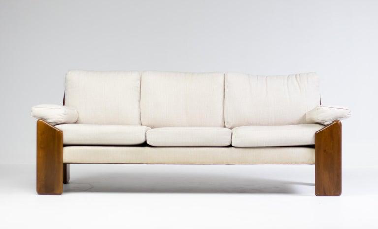 Mid-Century Modern Brazilian Rosewood Living Room Set For Sale