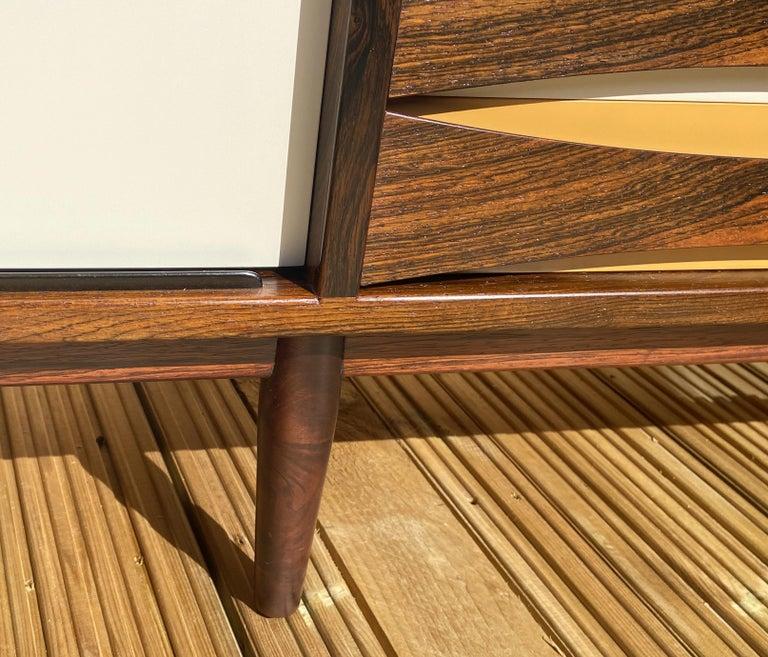 Brazilian Rosewood Sideboard Model 29A by Arne Vodder for Sibast For Sale 4