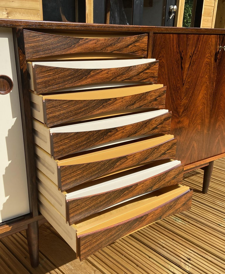 Brazilian Rosewood Sideboard Model 29A by Arne Vodder for Sibast For Sale 6