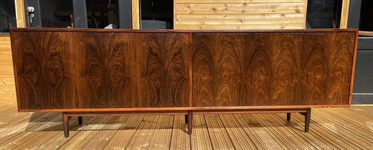 Brazilian Rosewood Sideboard Model 29A by Arne Vodder for Sibast For Sale 7