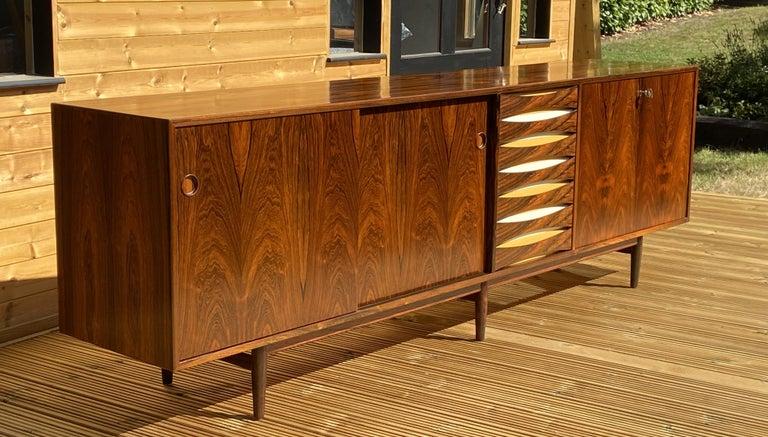 Danish Brazilian Rosewood Sideboard Model 29A by Arne Vodder for Sibast For Sale