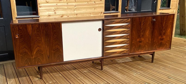 20th Century Brazilian Rosewood Sideboard Model 29A by Arne Vodder for Sibast For Sale