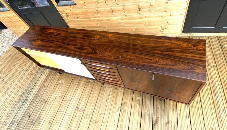 Brazilian Rosewood Sideboard Model 29A by Arne Vodder for Sibast For Sale 1