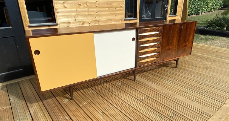 Brazilian Rosewood Sideboard Model 29A by Arne Vodder for Sibast For Sale 3