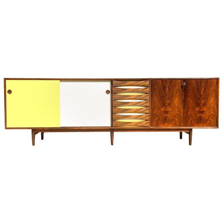 Brazilian Rosewood Sideboard Model 29A by Arne Vodder for Sibast For Sale