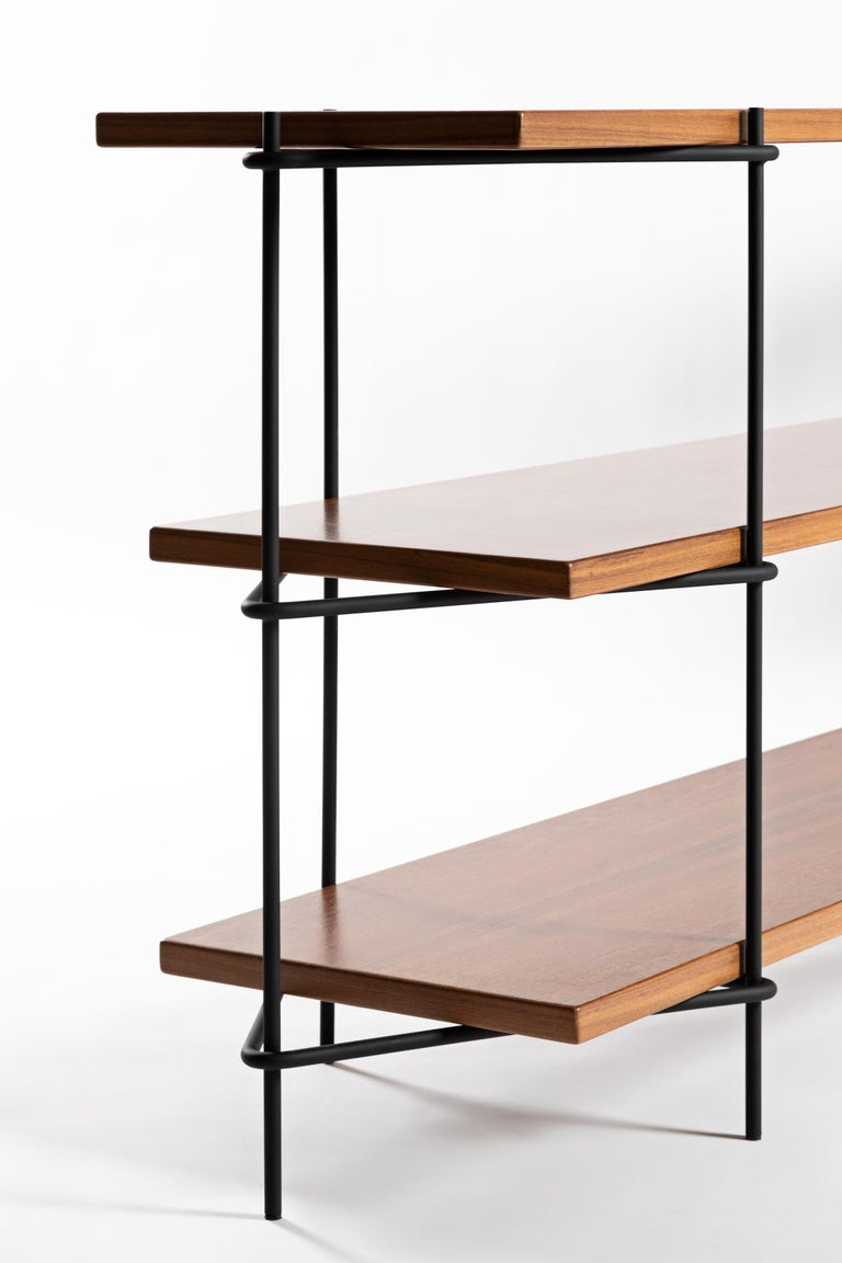Minimalist Brazilian Shelf System  'Carlos' by Samuel Lamas In New Condition For Sale In Brasilia, DF
