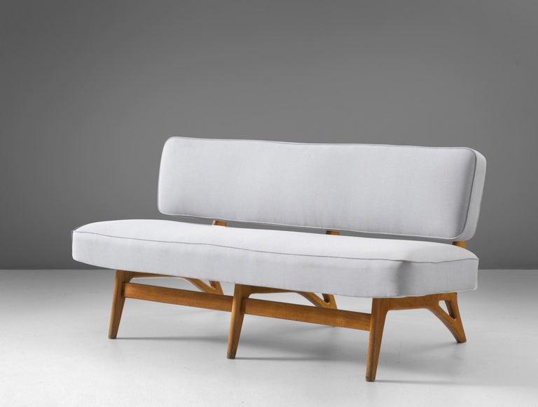 Mid-Century Modern Brazilian Sofa by Móveis Cimo, 1950s For Sale