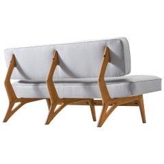 Brazilian Sofa by Móveis Cimo, 1950s
