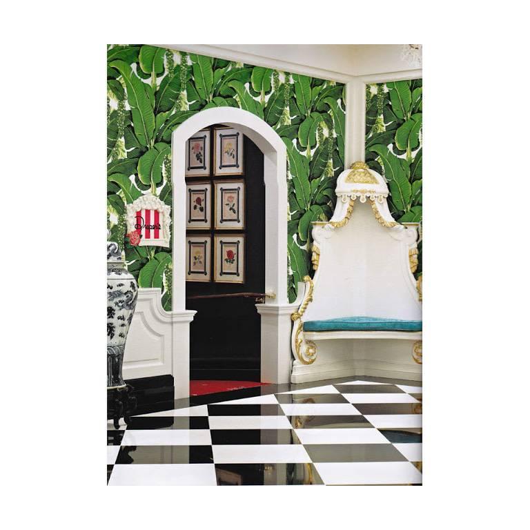 Hollywood Regency Brazilliance Wallpaper by Dorothy Draper Wallcoverings For Sale