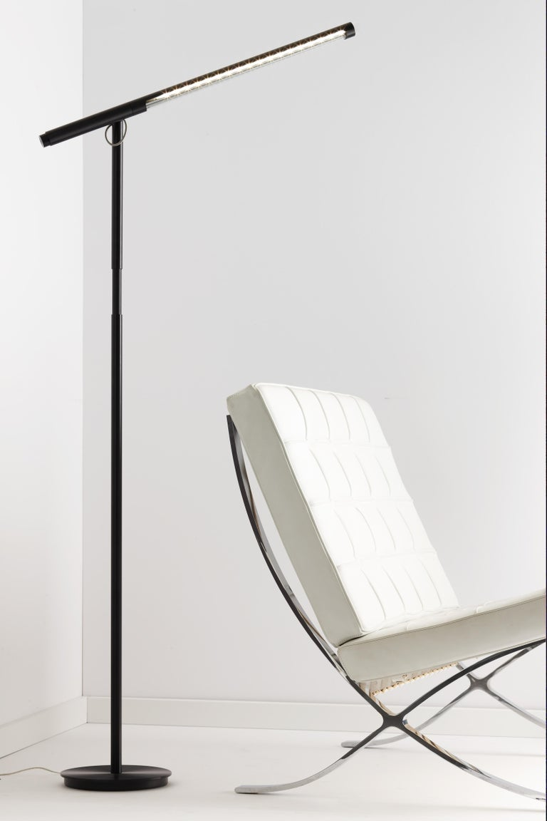 Brazo Floor Lamp In Black By Pablo Designs For Sale At 1stdibs