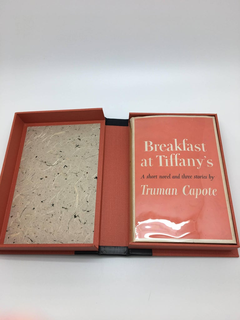 Mid-20th Century Breakfast at Tiffany's, First Edition with Original Dust Jacket, circa 1958