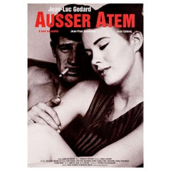 'Breathless' R2000 German A1 Film Poster