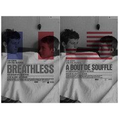 Breathless R2010 U.S. One Sheet Film Poster Set of 2