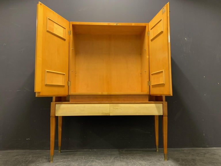 Breathtaking Cabinet or Bar Attributed to Andre Arbus For Sale 6