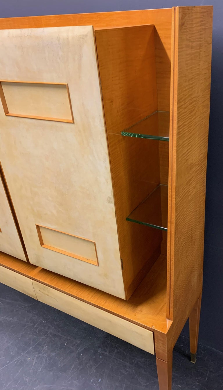 Breathtaking Cabinet or Bar Attributed to Andre Arbus In Good Condition For Sale In Munich, DE