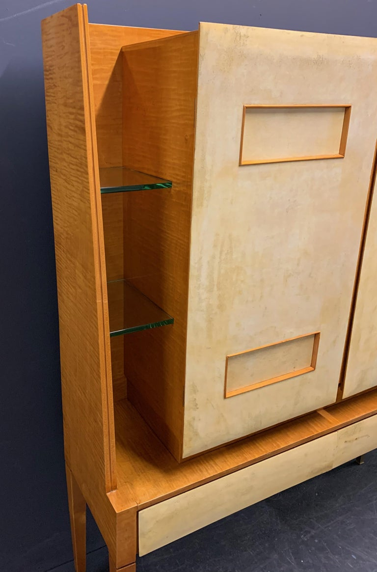 Breathtaking Cabinet or Bar Attributed to Andre Arbus For Sale 1