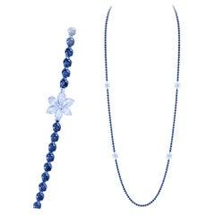 Breathtaking Diamond 18k White Gold Necklace for Her