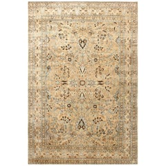 "Breathtaking Large-Scale Antique Persian Khorassan Rug. Size: 11' 8"" x 17' 9"""