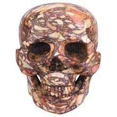 Breccia di Skiros Skull