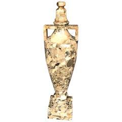 Breccia Marble Amphora Urn