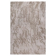 Breeze Sand by The Rug Company Hand Knotted in Wool and Silk ( 10' x 8' )