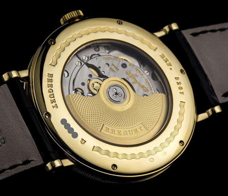 Breguet 18 Karat Gold Classique Retrograde Seconds Power Reserve 5207BA/12/9V6 For Sale 2