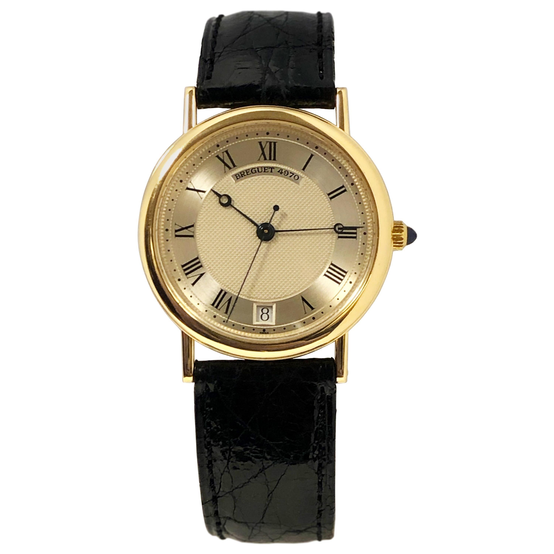 Breguet Classic Ref 3325 Yellow Gold Automatic Wristwatch