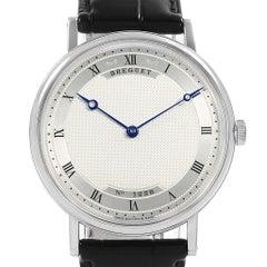 Breguet Classique 18 Karat White Gold Ultra Thin Watch 5157