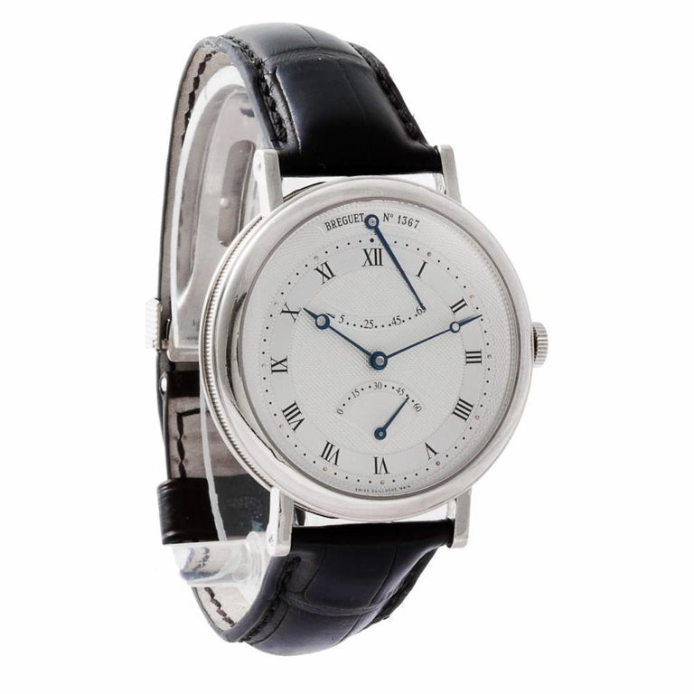 Breguet Classique 5207BA129V6, Silver Dial, Certified and Warranty In Excellent Condition For Sale In Miami, FL