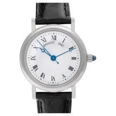 Breguet Classique 8067 18 Karat White Gold Silver Dial Automatic Watch
