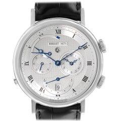 Breguet Classique Alarm Le Reveil du Tsar 18 Karat White Gold Watch 5707
