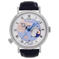 Breguet Classique Hora Mundi 5717PT Platinum Silver Dial Automatic Watch