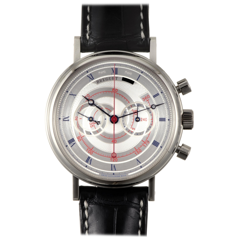 Breguet Classique Men's Manual Wind Chronograph Watch 5247BB/12/9V6
