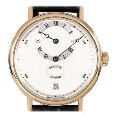 Breguet Classique Regulator Gents Rose Gold Silver Dial 5187