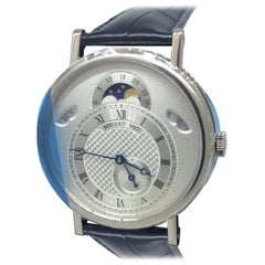 Breguet Classique White Gold Day Date Moonphase Men's Watch 7337bb/1e/9v6