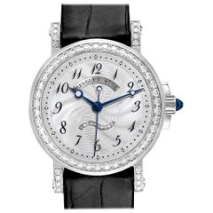 Breguet Classique White Gold Mother of Pearl Diamond Ladies Watch 8818