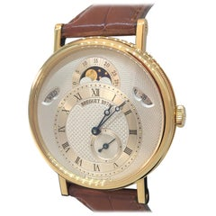 Breguet Classique Yellow Gold Day Date Moonphase Men's Watch 7337ba/1e/9v6