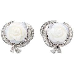Breguet Earrings La Rose de la Reine