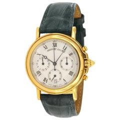 Breguet Horloger De La Marine Chronograph Gold Automatic Watch 2213L