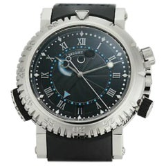 Breguet Marine 5847BB/92/5ZV, Black Dial, Certified and Warranty