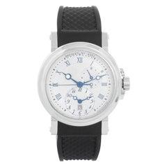 Breguet Marine Automatic GMT Men's Stainless Steel Watch 5857ST125ZU