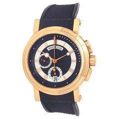 Breguet Marine Chronograph 18 Karat Gold Men's Watch Automatic 5827BR/Z2/5ZU