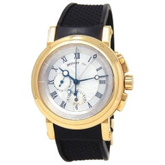 Breguet Marine Chronograph 18 Karat Yellow Gold Automatic Men's Watch 5827