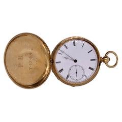 Breguet Paris Closed Face Pocket Watch