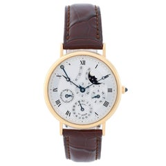 Breguet Yellow Gold Perpetual Calendar Power Reserve Automatic Wristwatch